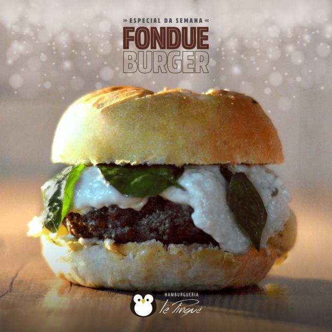 Especial da Semana - Fondue Burger