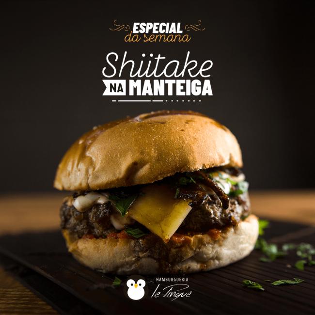 Especial da Semana - Shiitake na Manteiga