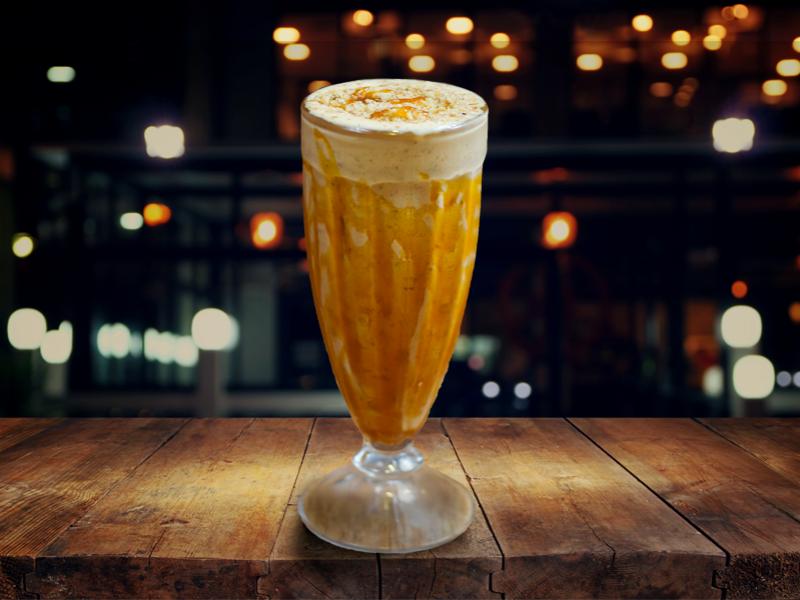 Milkshake de Doce de Leite com Nozes